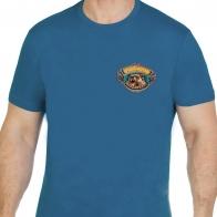 """Прикольная футболка с вышивкой """"Лучший охотник"""""""