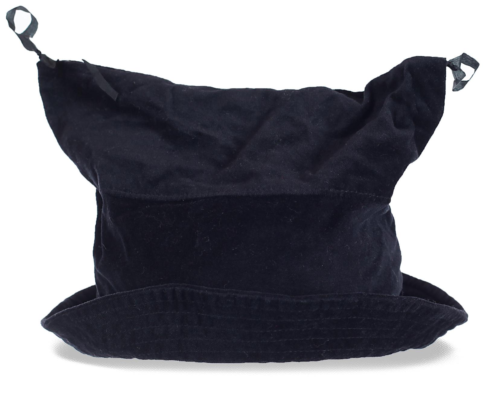 Прикольная оригинальная шапка новомодного фасона. Для продвинутых модников уникальное решение