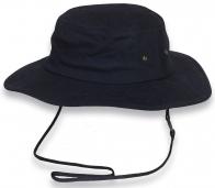 Прикольная темно-синяя шляпа
