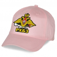 Прикольная женская кепка с наклейкой РХБЗ
