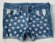 Прикольные детские джинсовые шорты