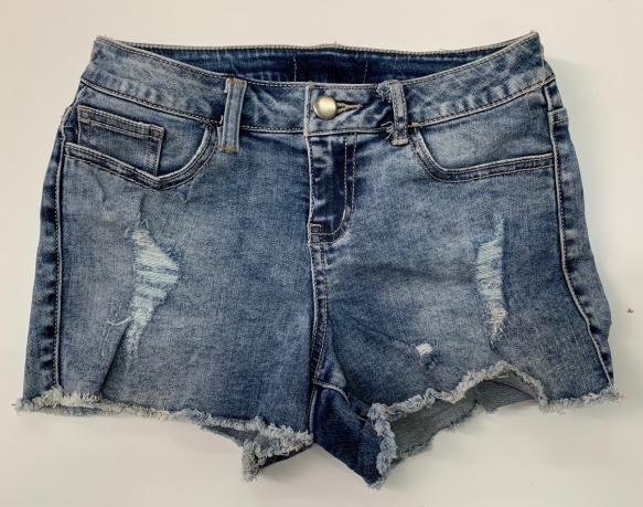 Прикольные женские джинсовые шорты