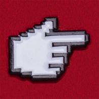 Прикольный пиксельный значок для олдскульных гиков