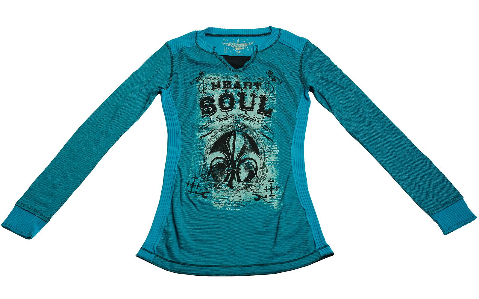 Приталенная кофточка Heart Soul от Rock&Roll CowGirl