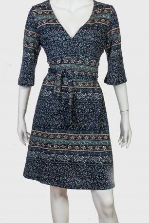 Приталенное платье с поясом Angie.