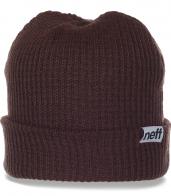 Привлекательная женская шапка от Neff. Комфортная модель в современном дизайне. Заказывай и будь самой модной!