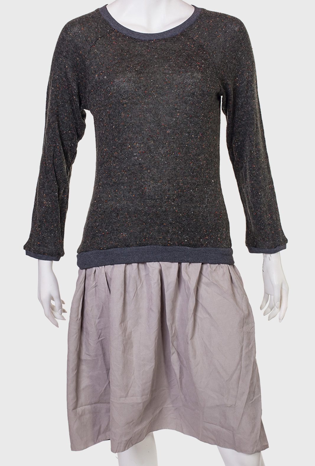 Купить привлекательное платье комбинированного пошива