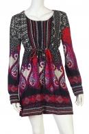 Привлекательное платье с своеобразным рисунком от бренда Z&L купить онлайн