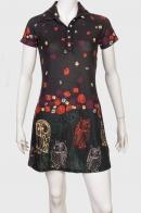 Привлекательное женское платье с совушками от  GOA GOA