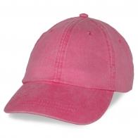 Промо бейсболка розовая
