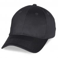 Промо кепка черно-серого цвета