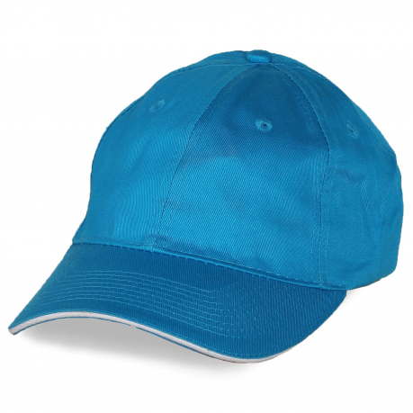 Промо-кепка небесно-голубая