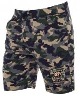 Просторные мужские шорты с эмблемой Охотничий спецназ