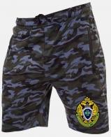 Просторные мужские шорты с эмблемой Погранслужбы