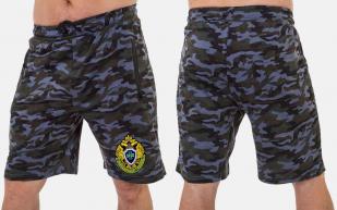 Просторные мужские шорты с эмблемой Погранслужбы купить оптом
