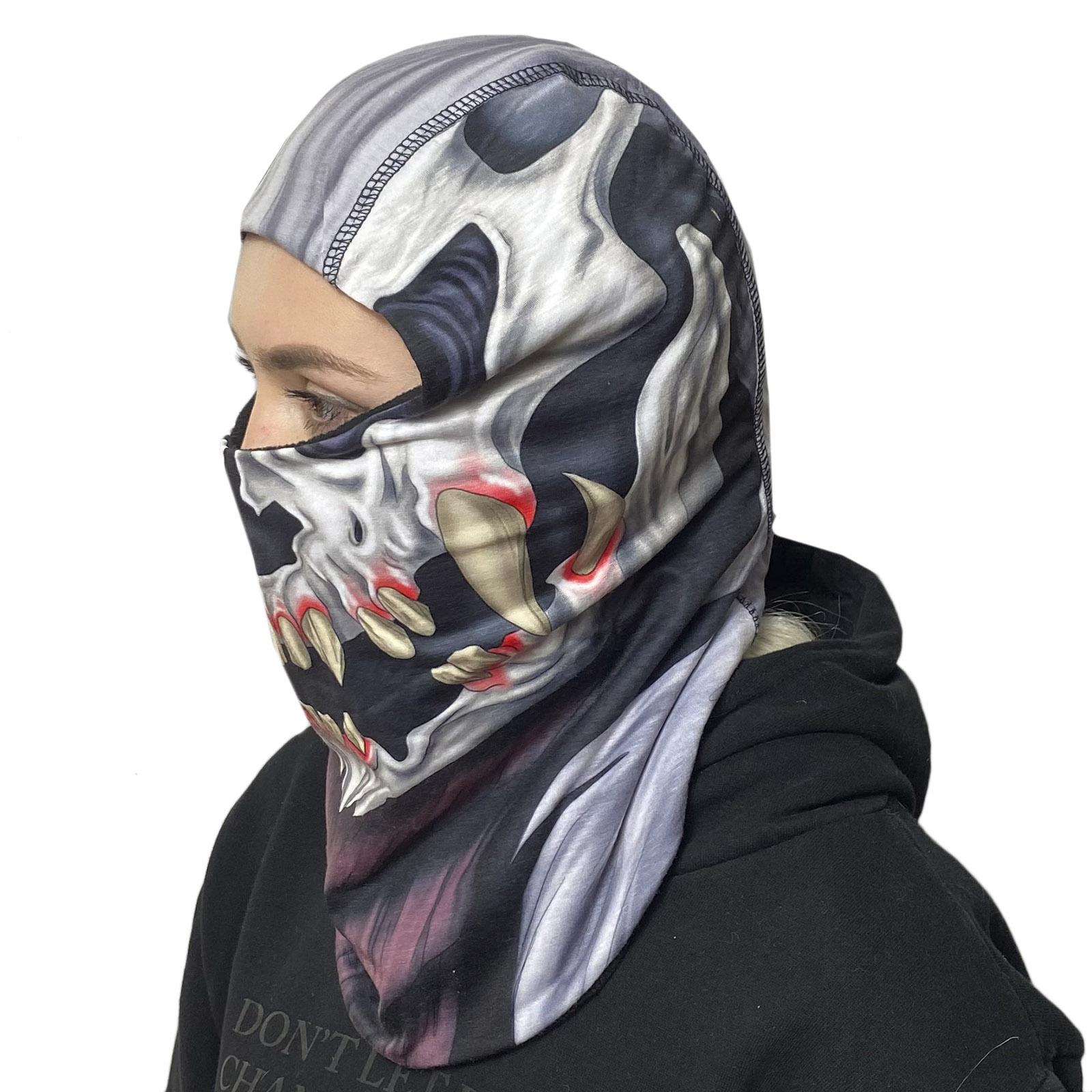 Противовирусная маска-балаклава Wild Wear Skull
