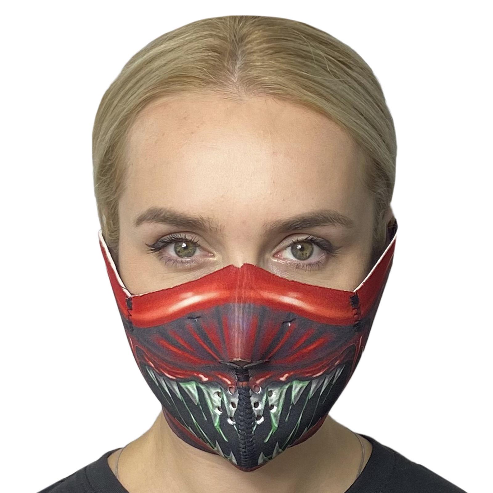 Противовирусная маска Wild Wear Alien из неопрена