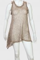 Провокационное стильное платье-сарафан