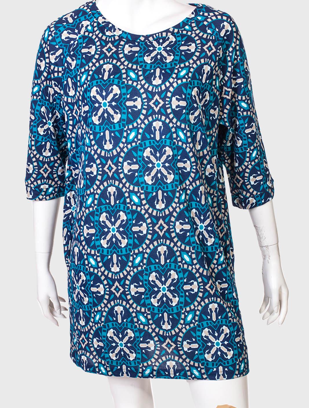 Прямое неотразимое платье от бренда Color