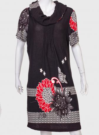 Прямое платье из тонкого трикотажа от Claire France