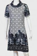 Прямое платье миди