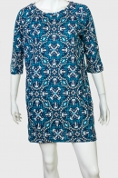Прямое трендовое платье от бренда Color