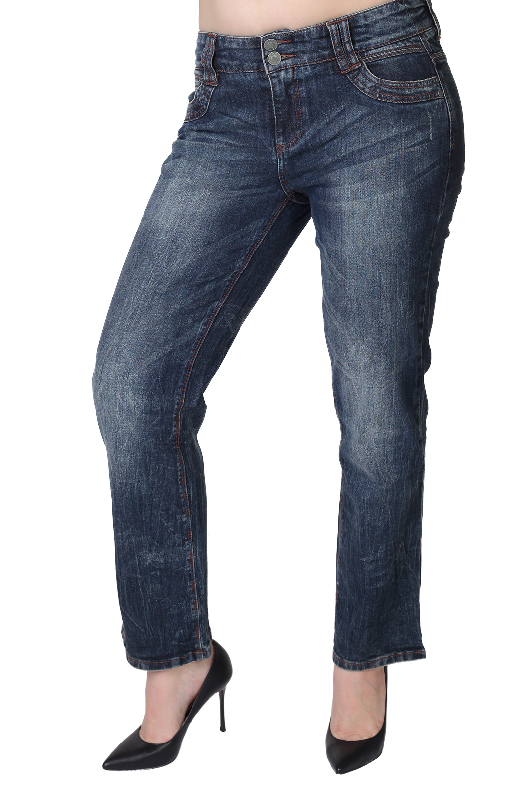Идеальная классика. Прямые женские джинсы G3000 Samantha.