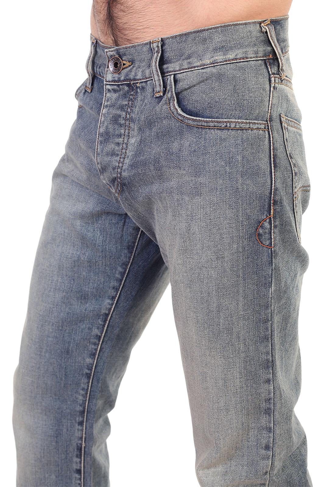 Брендовые прямые мужские джинсы