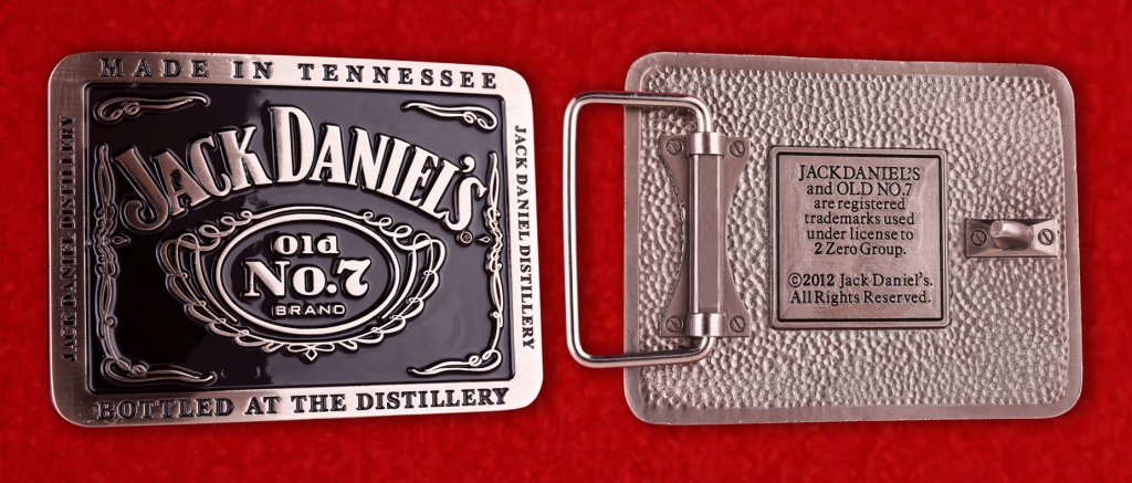 Пряжка для ремня Jack Daniels (США)