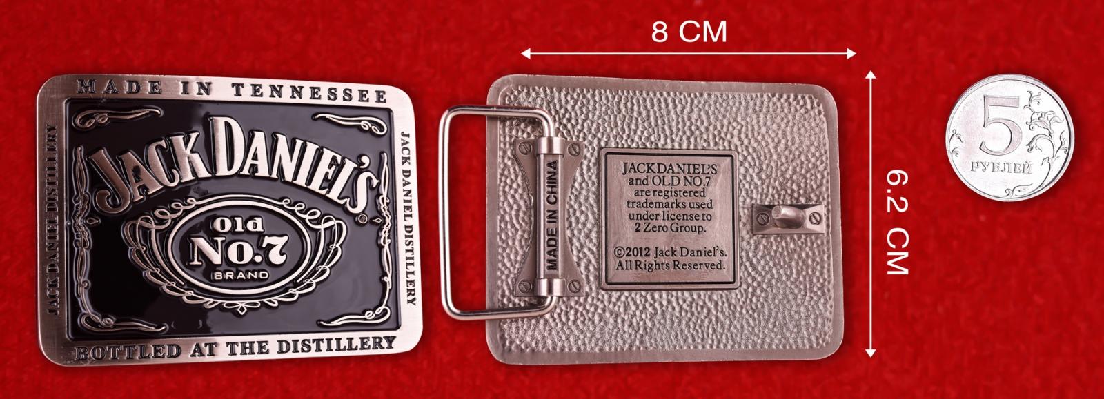 Подарочная пряжка для ремня Джек Дэниэлс