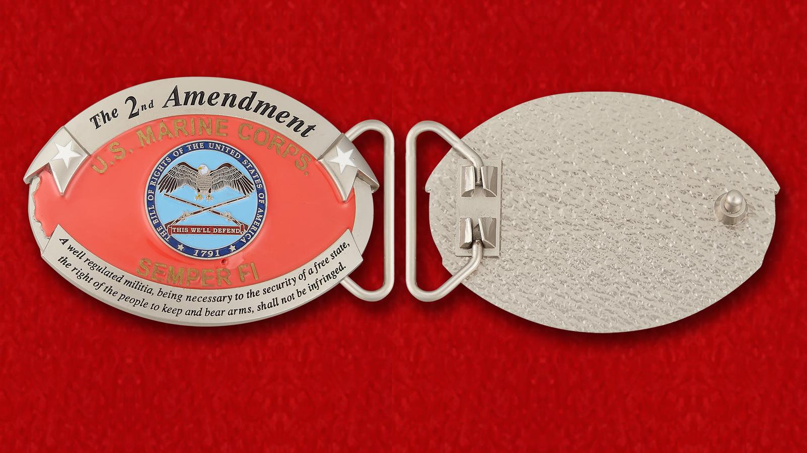 """Пряжка для ремня """"Корпус морской пехоты США"""""""