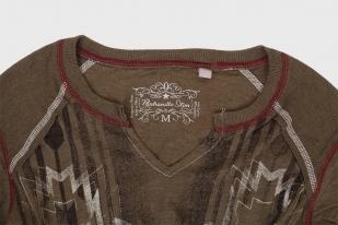 Женственный пуловер Panhandle Slim с рукавом ¾