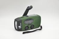 Радио выживальщика с динамо-машиной и LED-фонарем