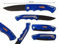 Раскладной нож с полусеррейтором
