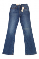 Расклешенные от колен женские джинсы Pieces.