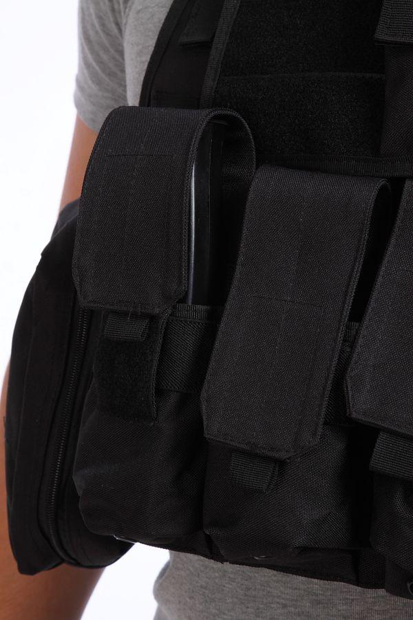 Разгрузочный жилет Tactical Black CIRAS