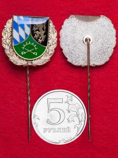 Редкий значок 48-го батальона охраны 12-й танковой бригады Бундесвера Оберпфальц, Амберг, Германия