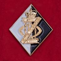 Редкий знак 13/18-го Королевского гусарского (танкового) полка армии Великобритании