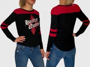 Женский брендовый реглан Harley Quinn