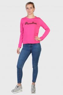 Розовый реглан Sybilla с пайетками