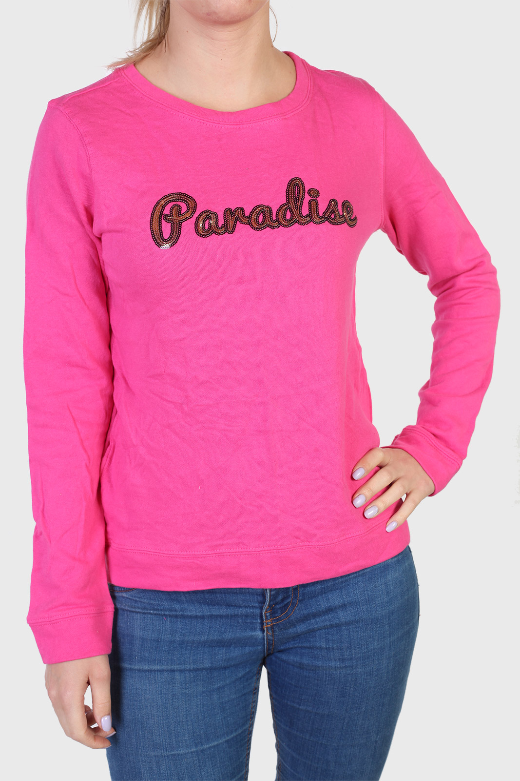 Купить в интернет магазине розовый реглан Sybilla