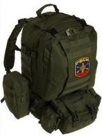 Рейдовый рюкзак хаки-олива