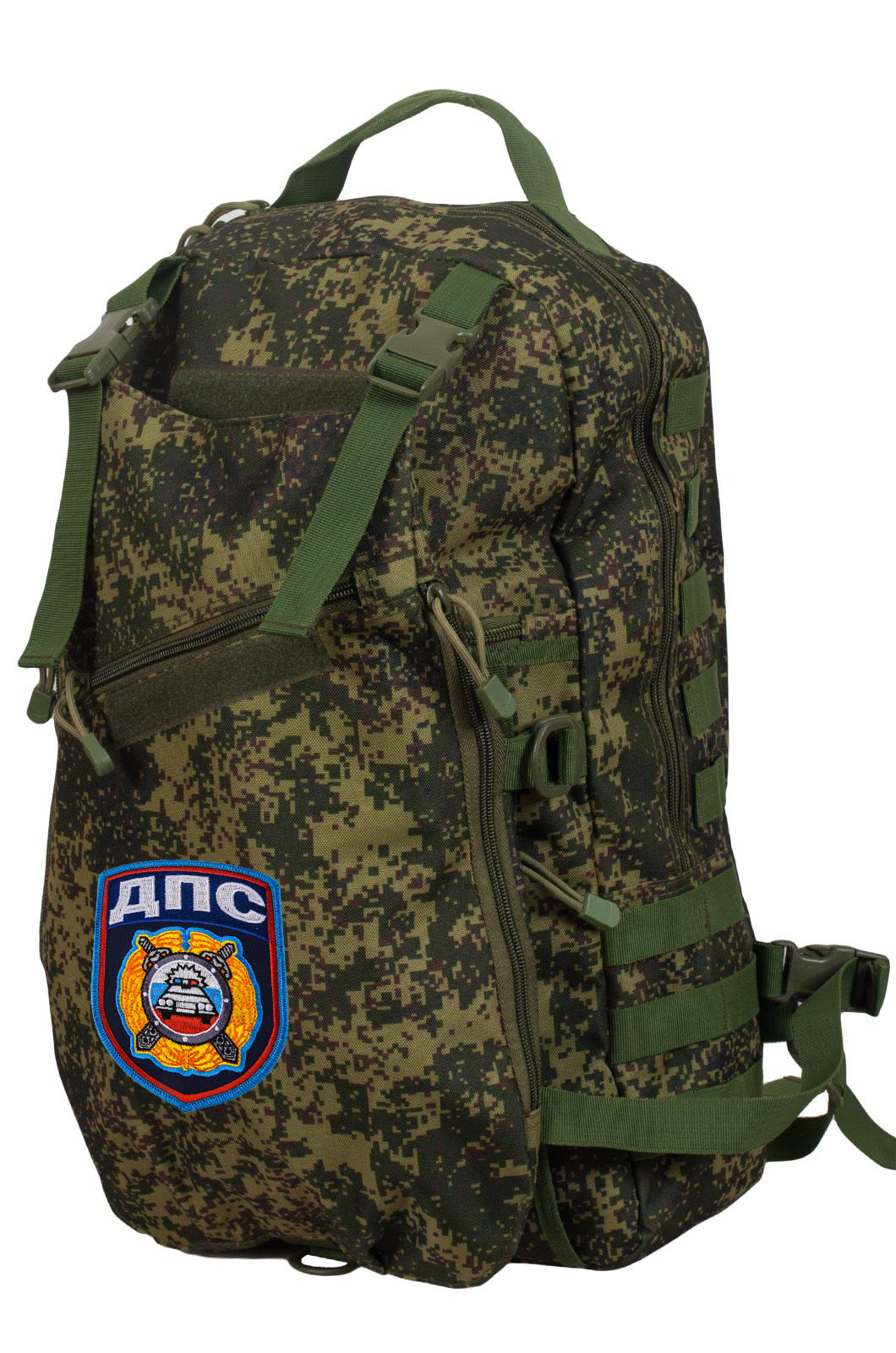 Рейдовый армейский рюкзак с нашивкой ДПС - заказать оптом