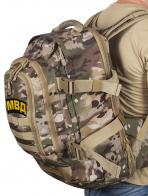 Рейдовый армейский рюкзак с нашивкой МВД - заказать  онлайн