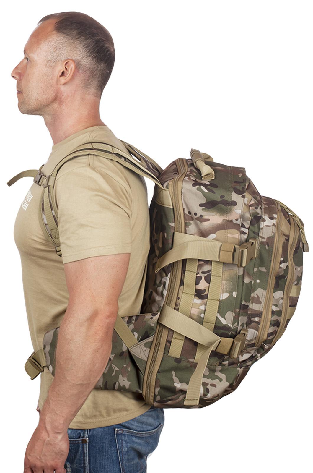 Рейдовый армейский рюкзак с нашивкой МВД - заказать по низкой цене