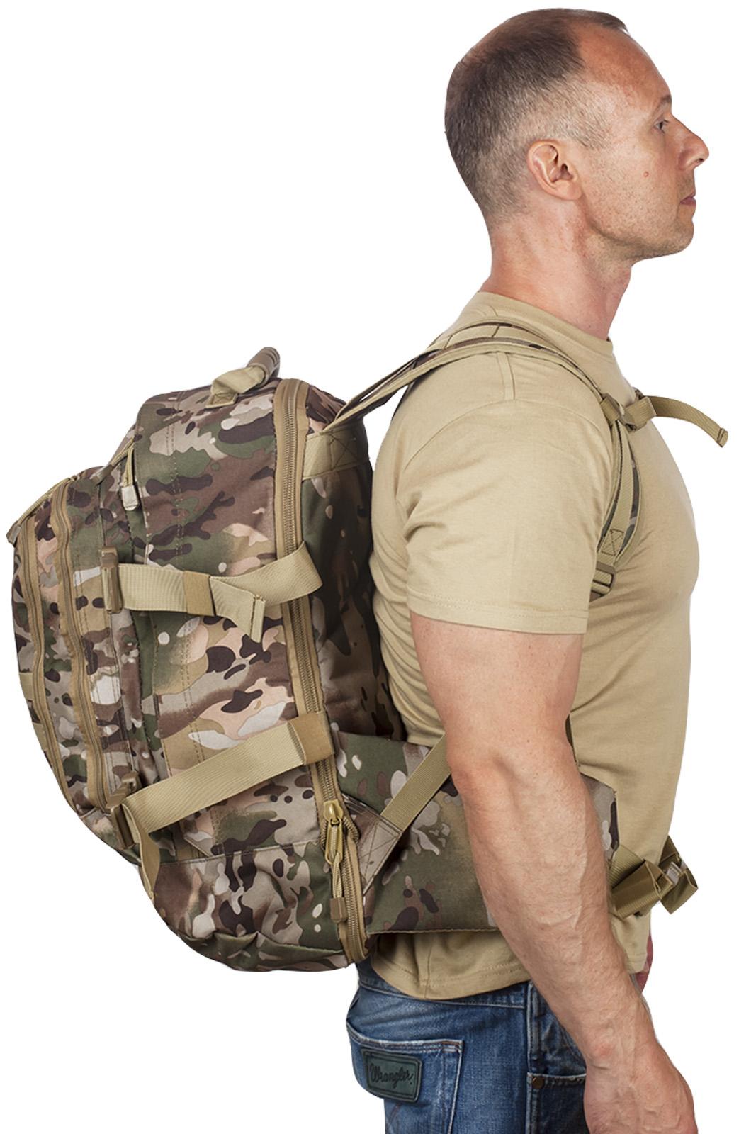 Рейдовый армейский рюкзак с нашивкой МВД - купить онлайн