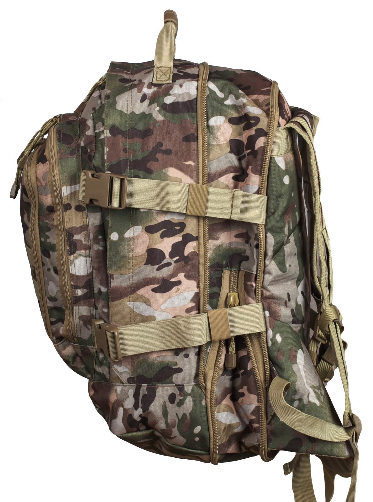 Рейдовый армейский рюкзак с нашивкой МВД - купить с доставкой
