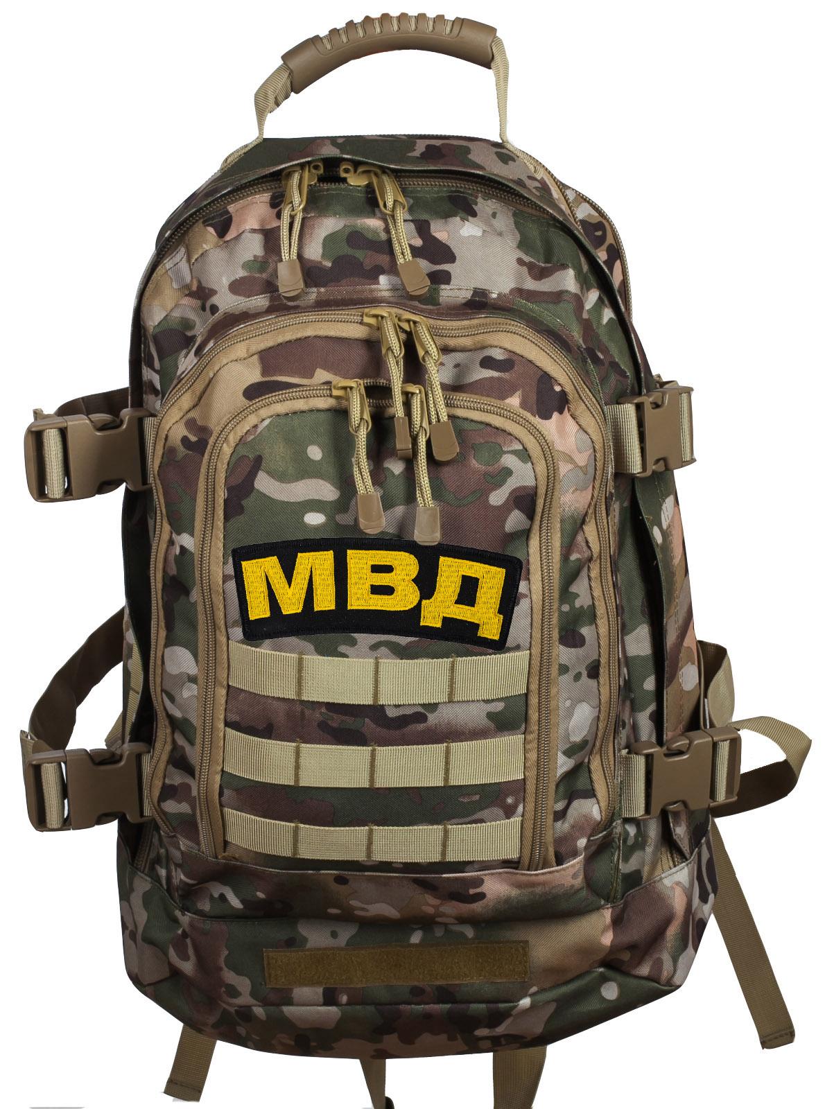 Рейдовый армейский рюкзак с нашивкой МВД - купить в подарок