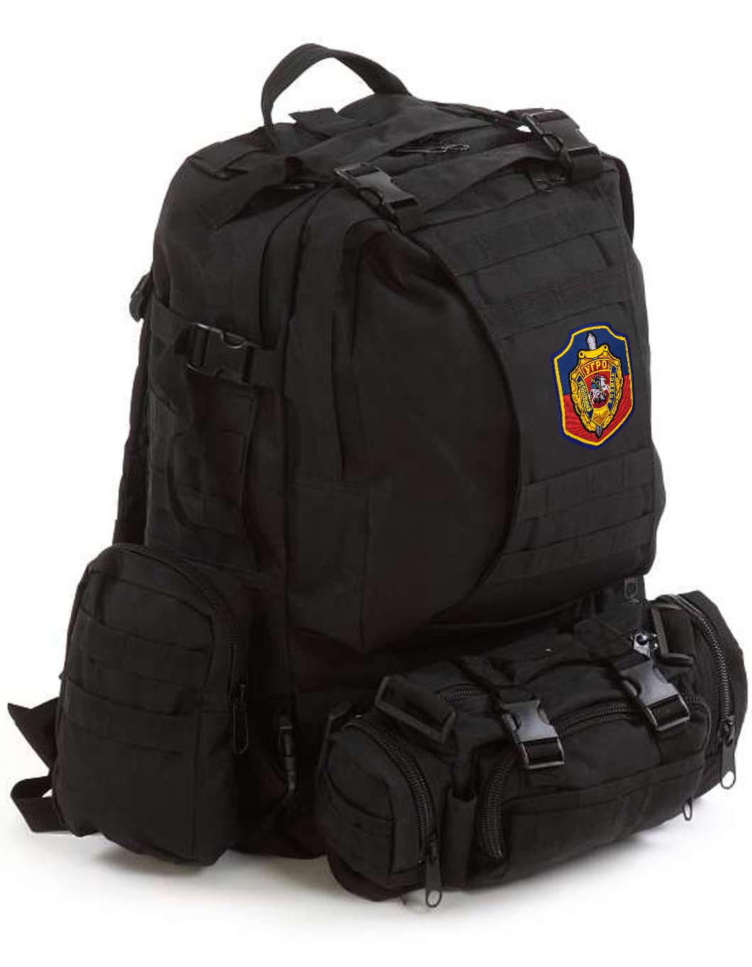 Рейдовый черный рюкзак Assault УГРО - купить выгодно