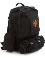 Рейдовый черный рюкзак Assault УГРО